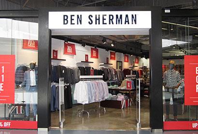 Ben Sherman DFO Homebush outlet store