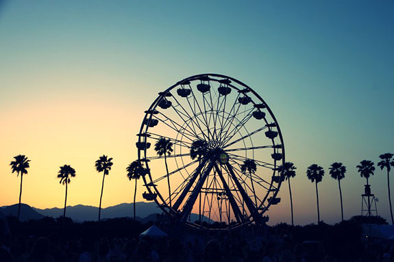 Cochella 2014 Ferris Wheel